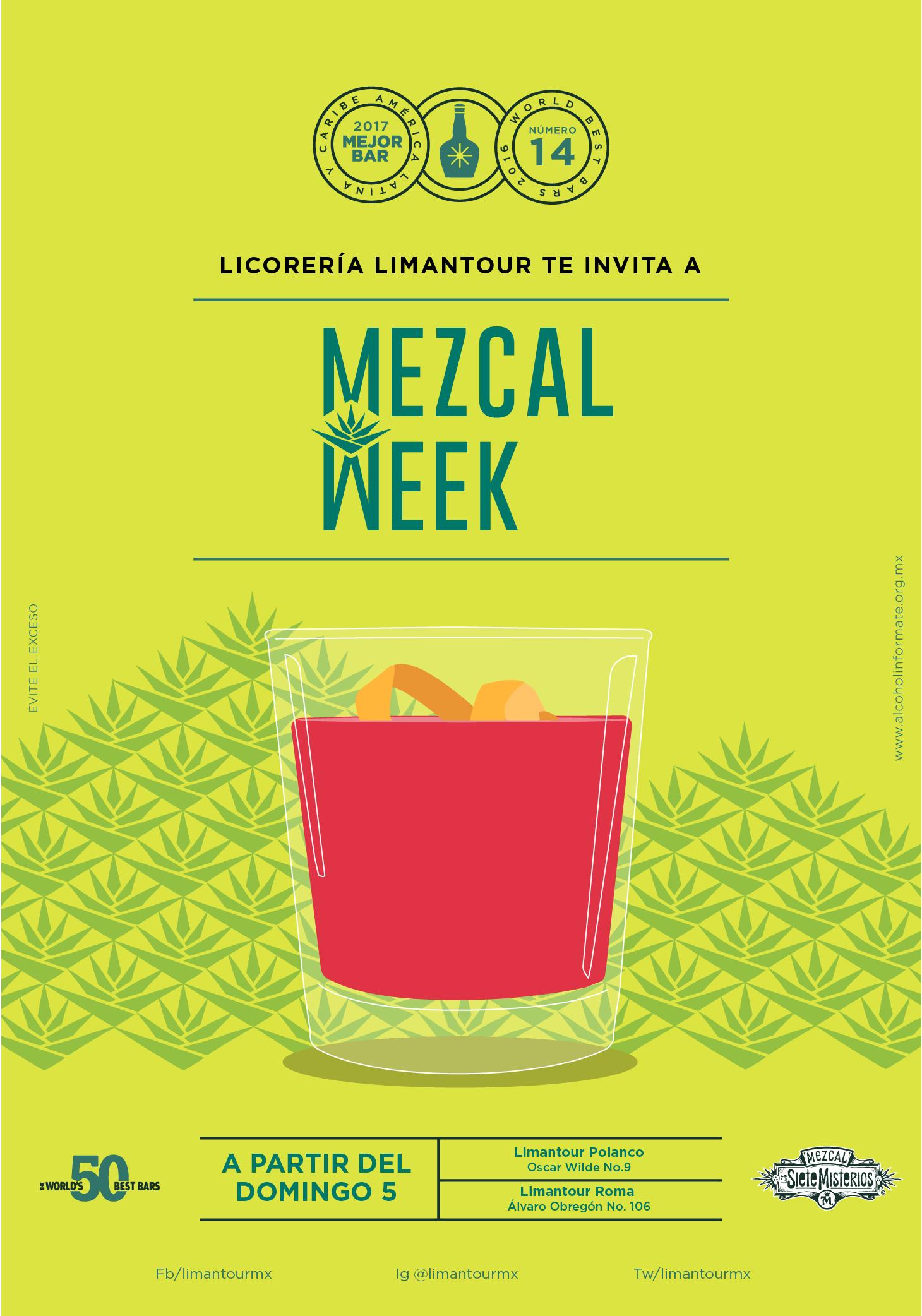 Misterios Siete Limantour's - Mezcal Week